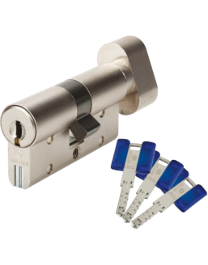 Cylindres supplémentaires s'entrouvrants BRICARD Chifral S2 à bouton - supplémentaire - même variure