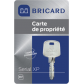 Key Bricard BRICARD Serial XP