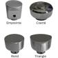 Cylinder buttons Bouton design à la place du bouton standard