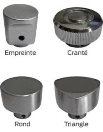Bricard - type de bouton de cylindre