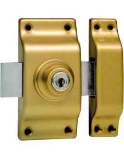 Lock BRICARD double entries with cylinder Bloctout