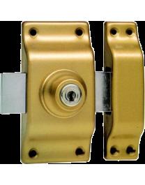 Verrou BRICARD cylindre rond Bloctout à bouton