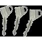FICHET Sans souci - Mécanisme central à cylindre 690