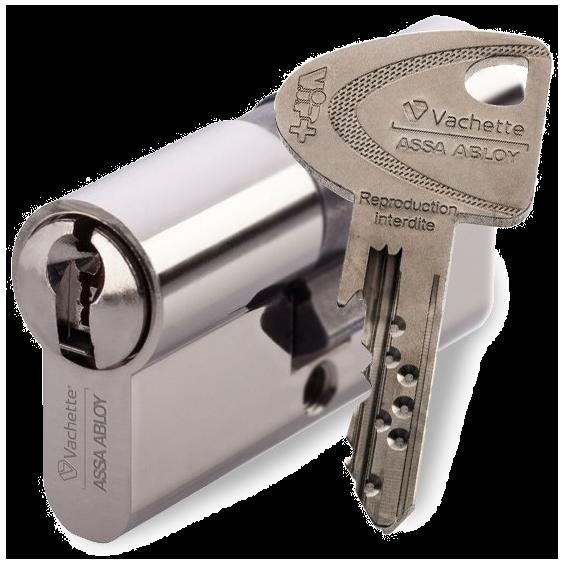 Options for locks VACHETTE VIP+ pour FICHET ENTR