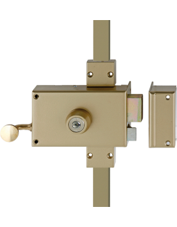 Wall-mounted lock HÉRACLÈS 3 points MX4500 SR