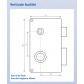 Wall-mounted lock HÉRACLÈS 3 points MX4500 SR
