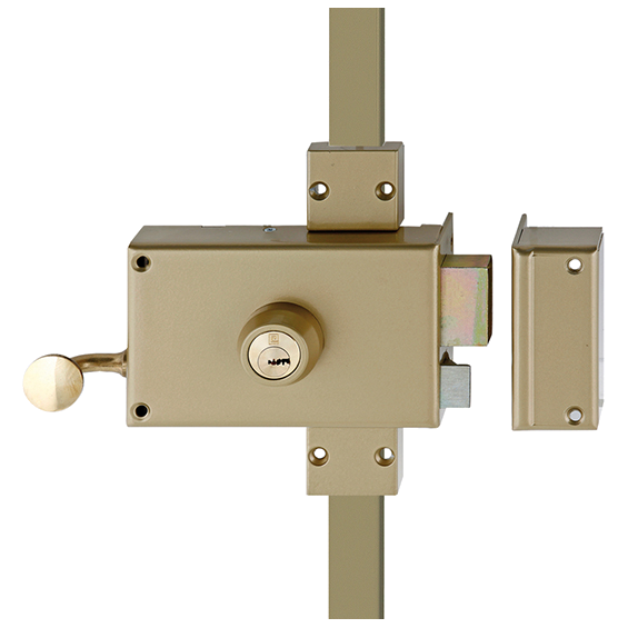 Wall-mounted lock HÉRACLÈS 3 points MX4500 Y8