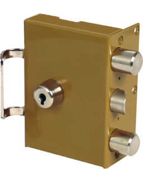 Wall-mounted lock Mécanisme seul HÉRACLÈS 3 points Périclès