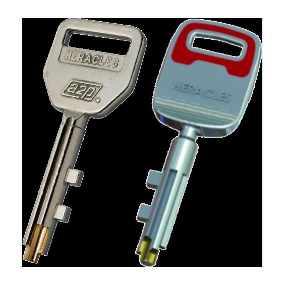 Key FICHET HÉRACLÈS Vigie (ancien et nouveau modèle)