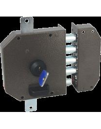Wall-mounted lock Serrure HÉRACLÈS 3 points 63MC