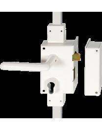 Wall-mounted lock Serrure HÉRACLÈS 3 points MX3000