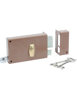 Wall-mounted lock BRICARD Série 310/410