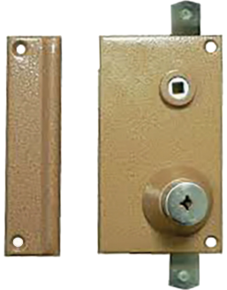 Wall-mounted lock Mécanisme Bricard Supersûreté Vertical
