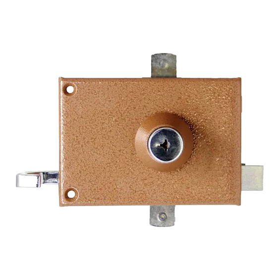 Wall-mounted lock Mécanisme Bricard Chifral S2 Horizontal