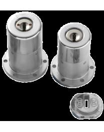 Jeu de cylindres Bricard Chifral S2 adaptable serrure VAK