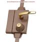 Lock mechanism Montage à blanc pour serrure Multipoint