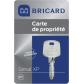BRICARD Serial XP pour serrures 8161,8151, et 8121PMR