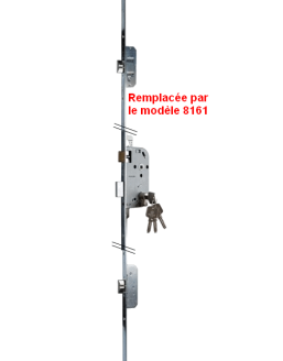 recessed locks BRICARD 8151 série Evolution A2P1*