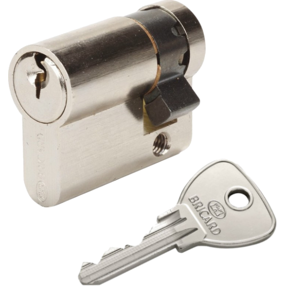 European cylinder Demi cylindre BRICARD Alpha