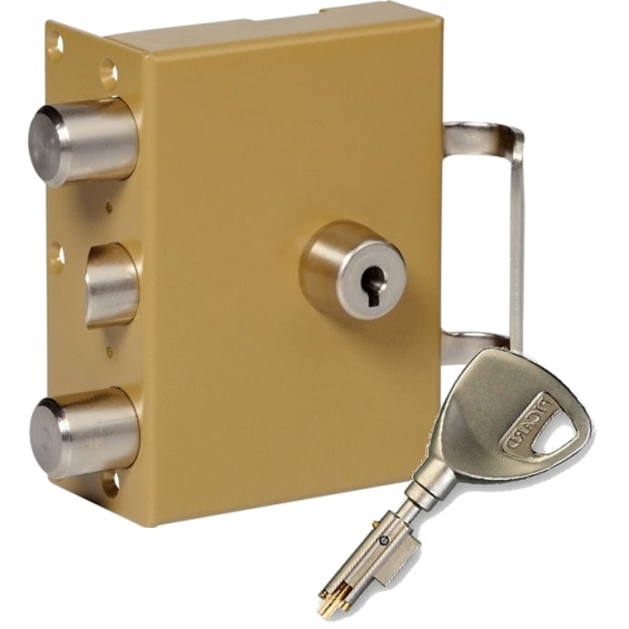 Wall-mounted lock Serrure PICARD 3 points TRIDENT a2p1 Vigie Mobile