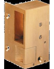 Gâche électrique horizontale - bronze