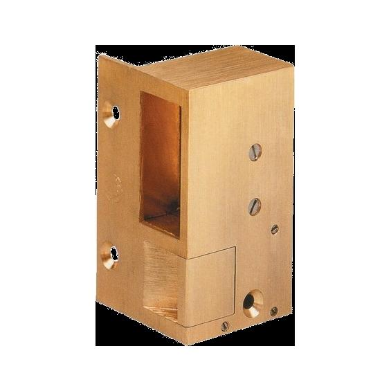 Electric strike Gâche électrique horizontale - bronze