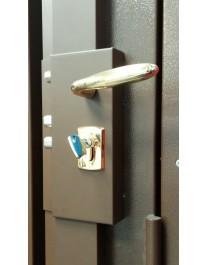 Wall-mounted lock FICHET Alicea Slim à cylindre européen