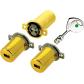 Round cylinders Jeu de 3 cylindres FICHET 787 Z Standard pour Multipoint 2 Vantaux