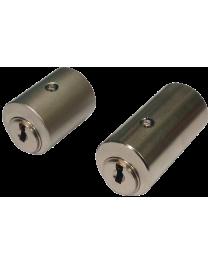 Cylindre KABA ExperT Plus 983 adaptable Verrou CITY 26 ou VACHETTE V136 double entrées