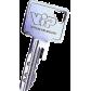 Key Vachette Vachette VIP pro