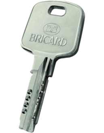 Clé BRICARD Serial S ou XP Passe