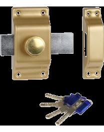 BRICARD à bouton et cylindre Chifral S2
