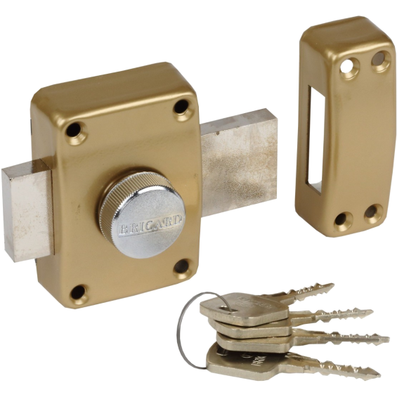 Lock BRICARD Serial with button