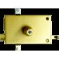 Horizontal ISEO lock mechanism with Izis cylinder