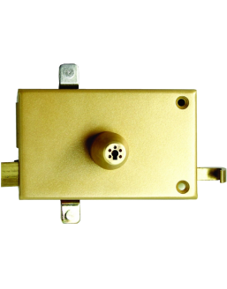 Mécanisme horizontal de serrure ISEO à cylindre Izis
