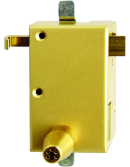 Vertical ISEO lock mechanism with Izis cylinder