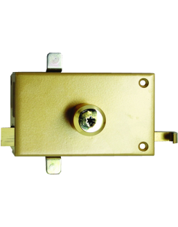 Horizontal ISEO lock mechanism with Cavith cylinder