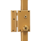 Pollux - 3-point surface-mounted lock with 7-wing cylinder