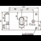 Vachette Monopoint à profil de cylindre européen