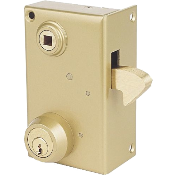 JPM - Single point lock with chin and Vega cylinder
