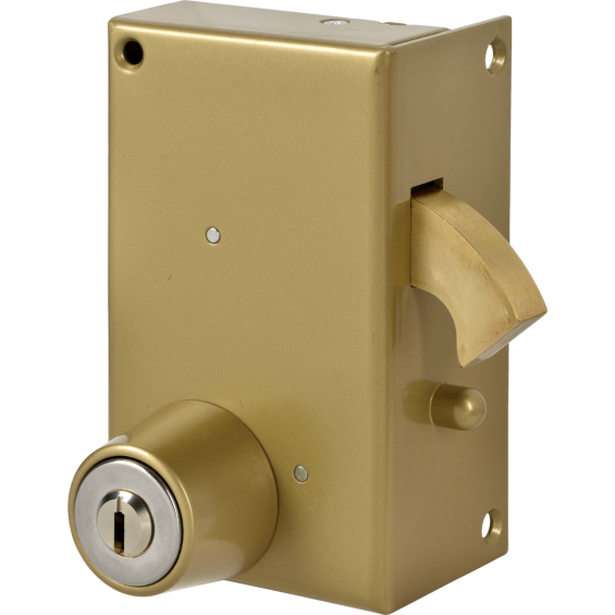 JPM - Single point lock with hook and cylinder Vega