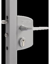 Gate lock with round bolts - Locinox LAKQ 40