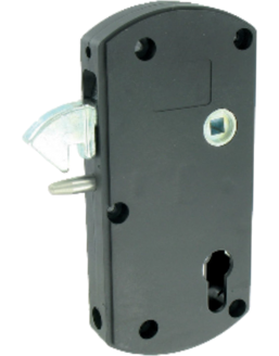 Thirard - Modulox lock with lifting bolt for sliding gate
