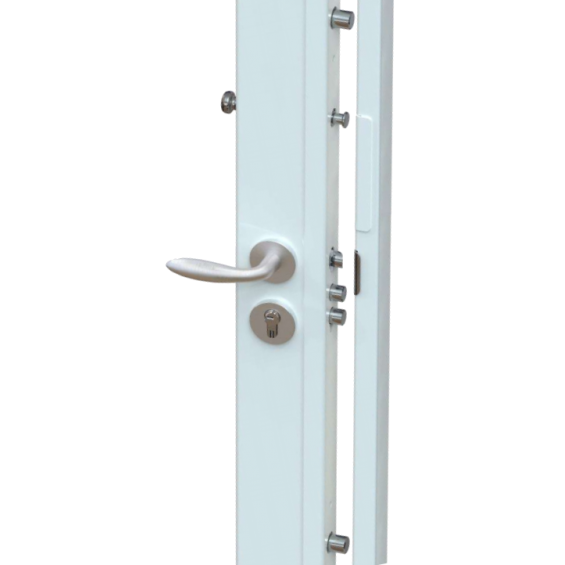 Surface mounted multipoint lock with fairing - Bricard Imperior A2P *