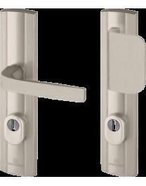 Entrance door handle BRICARD eXA - Expression 242X52mm