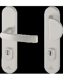 Entrance door handle BRICARD eXA - Essentiel 242X52mm