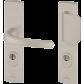 Entrance door handle BRICARD eXA - eMUST 242X52mm