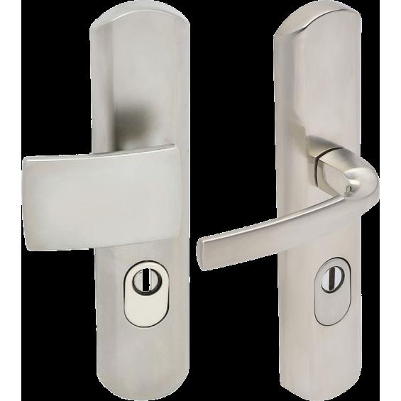 "Secured handle FICHET ""Muze"" for Stylea/Forstyl+ à cylindre européen"
