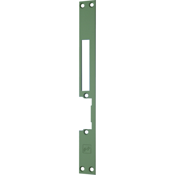 Faceplate for EFF model HZ electric strike