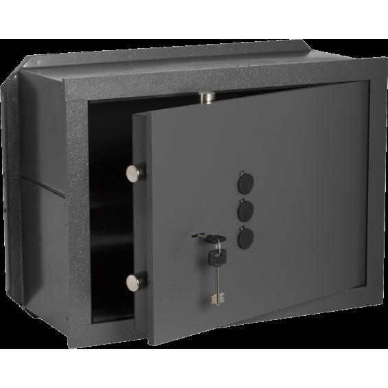 Wall box Bricard - à Clé + boutons à emmurer